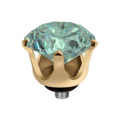 MELANO TWISTED MEDDY'S CROWN CZ 5048 G TURQUOISE