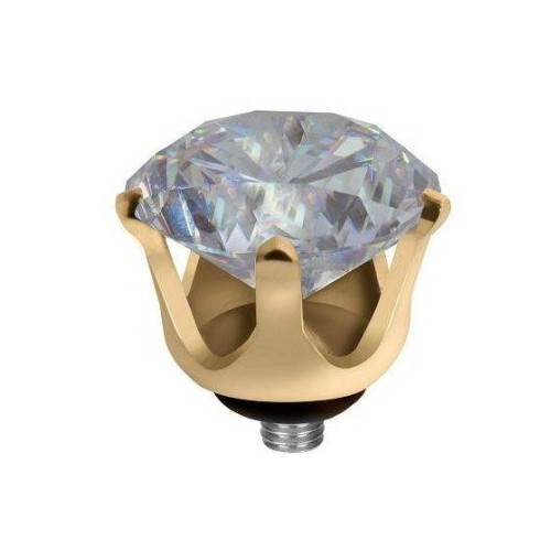 MELANO TWISTED MEDDY'S CROWN CZ 5048 G MOONSTONE