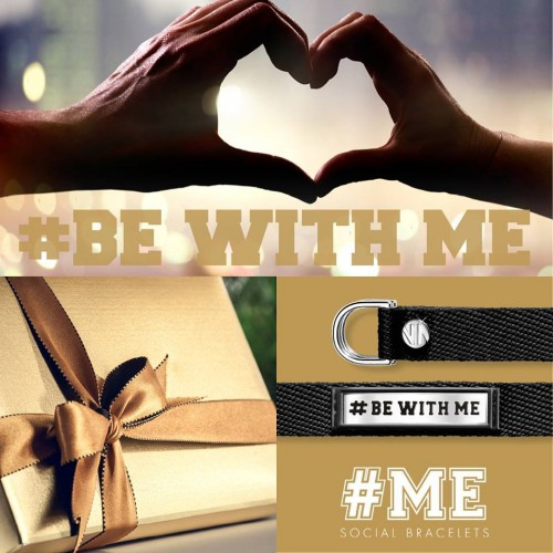 NOMINATION BRANSOLETKA SOCIAL -BE WITH ME