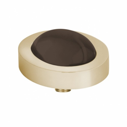 MELANO VIVID MEDDY'S OVAL 9050 COFFEE